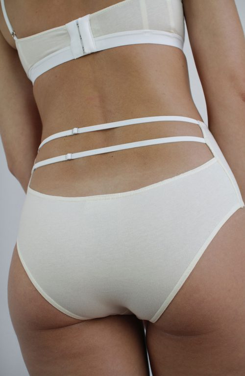 talk under light (Cercle) organic cotton briefs